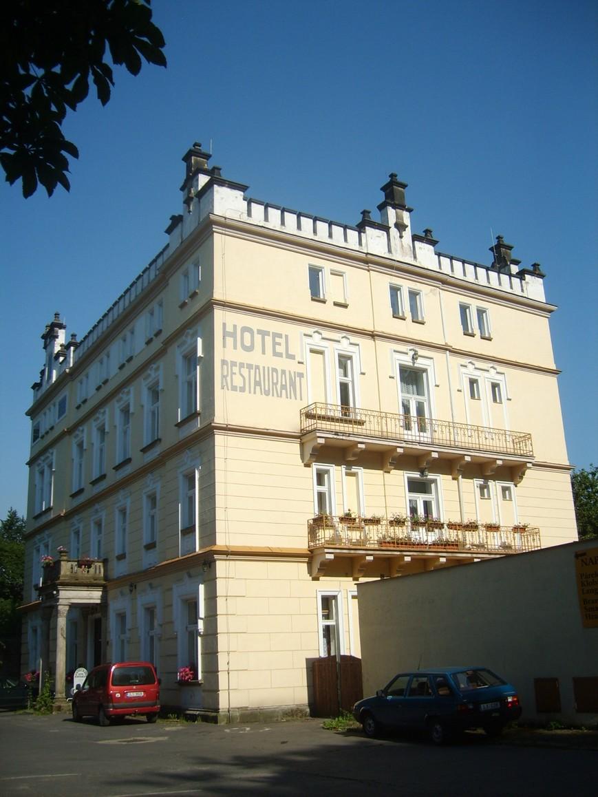 Hotel Štekl in Hrubá Skála